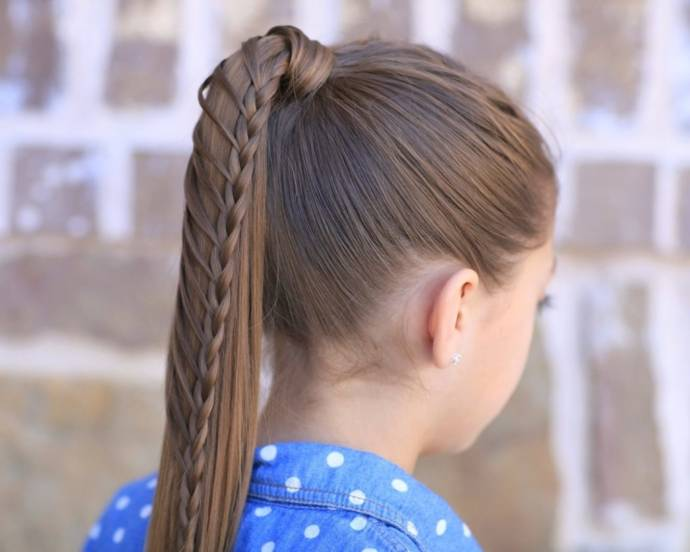 Pleasant Best Ponytail Hairstyles Haircuts For Indian Girls And Women Natural Hairstyles Runnerswayorg