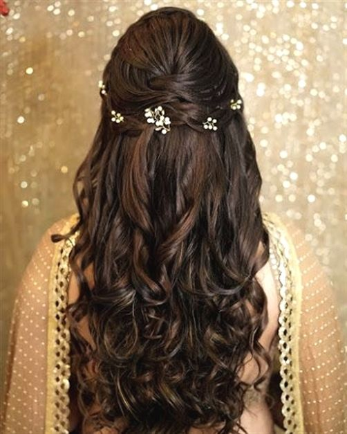 Wedding Hairstyles Games: Latest Hairstyles That Suits All Types Of Sarees & Lehengas