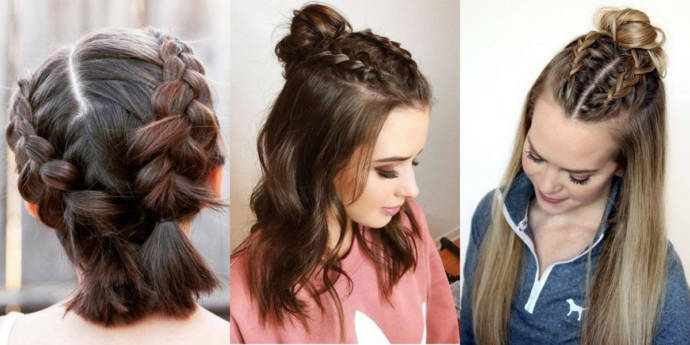 Easy Simple Hairstyles Haircuts For School Girls 2019 Beauty