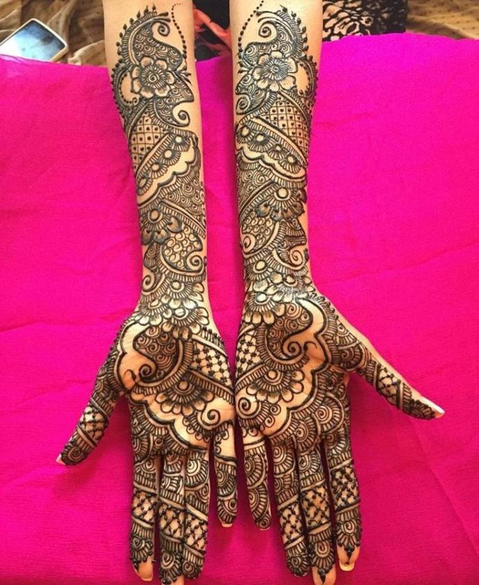 Fall Henna Designs: Latest Bridal Mehendi Henna Designs For Wedding