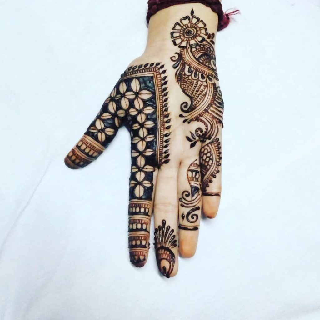 Full Hand Royal Mehndi Design