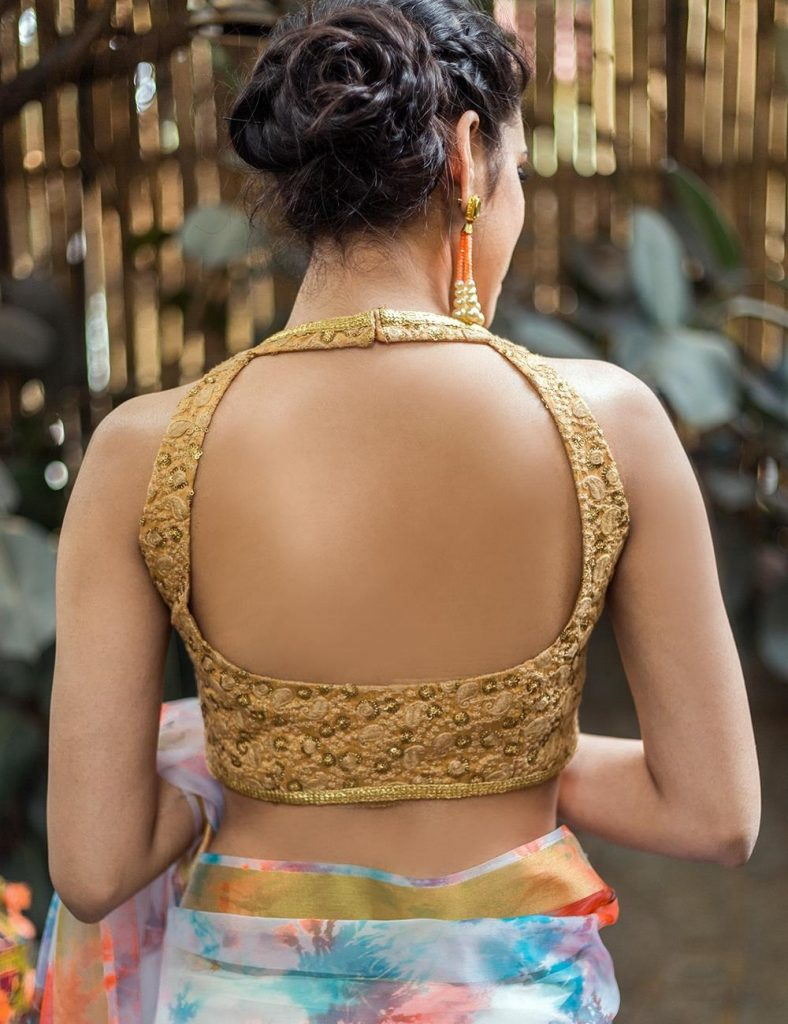 Gorgeous Backless Design