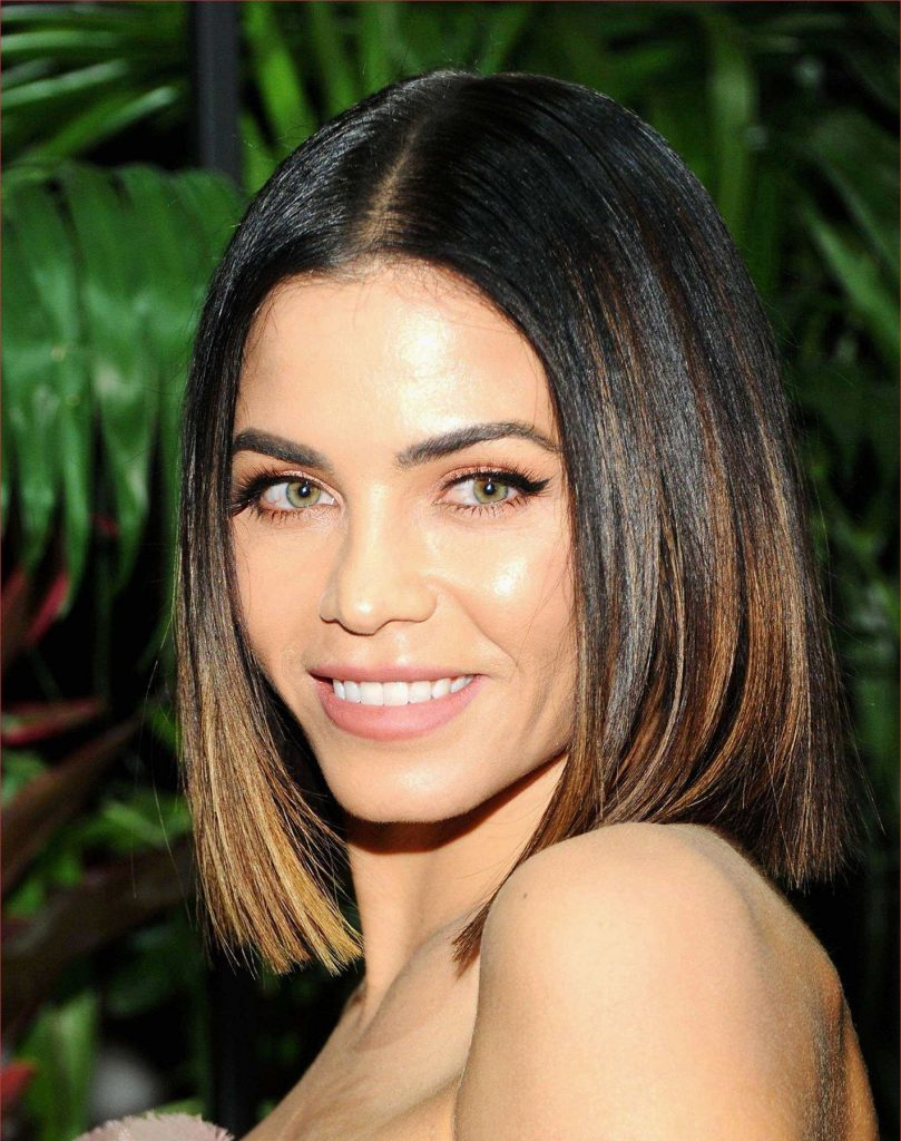 Loose straight layers with middle part