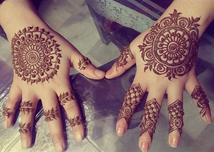 Minimalistic Mehndi Magic