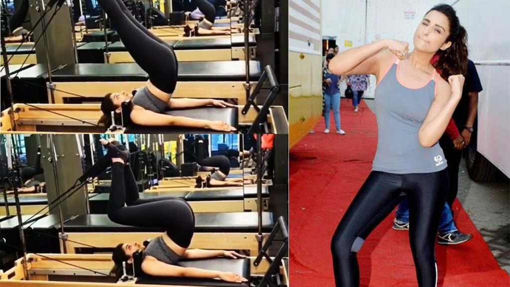 Parineeti's Workout Regime