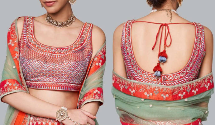 75 Latest Party Wear Blouse Designs For Lehengas And Sarees