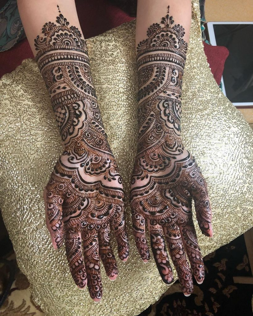 The Bridal Henna Masterpiece