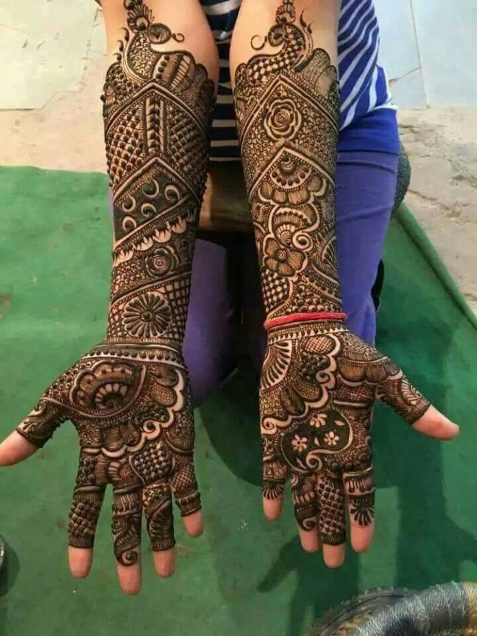 The Bridal Mehndi Architectural Marvel