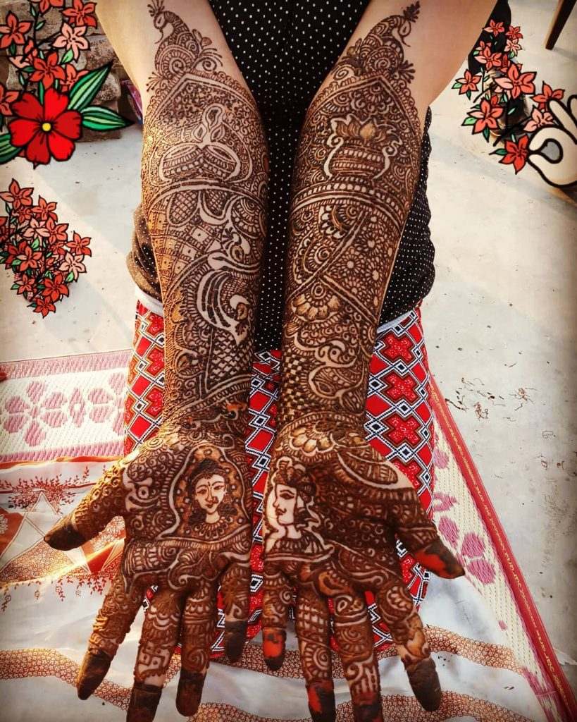 The Wedding Brigade Mehndi Design