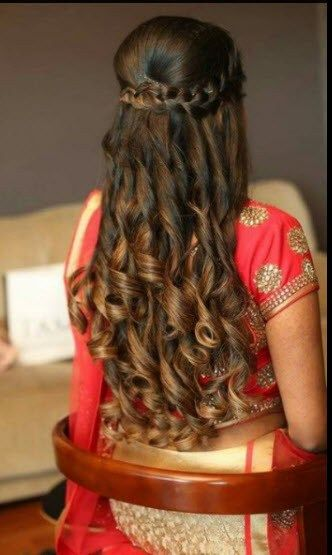 Waterfall braid with tight locks
