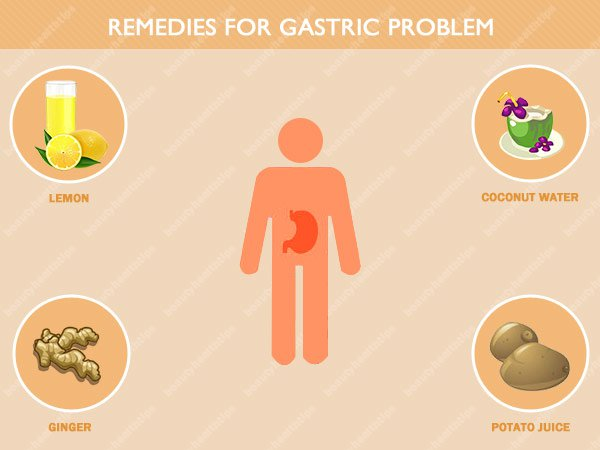 Home remedies for gastric problem - Solution for gas in