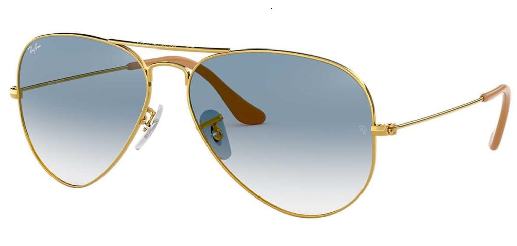 Ray-Ban 55 Original Aviator Sunglasses