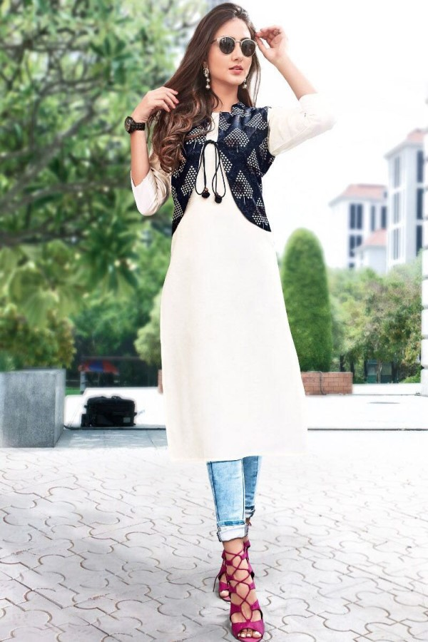 Layered-up Sophisticated Kurti