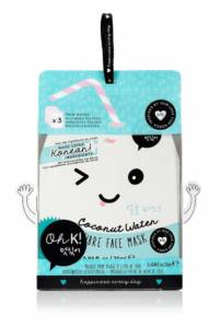 Oh K – Korean Coconut Water Fiber Face Mask