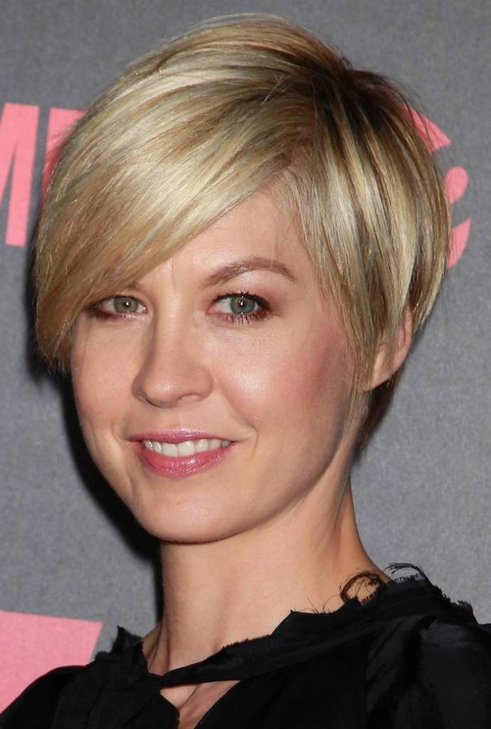 Very Short Haircut with Side Bangs