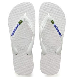 Havaianas Brazilian Logo Flip Flops for Men and Women