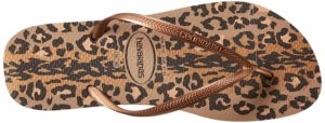 Havaianas Slim Animal Sandal Flip Flops for Women