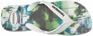 Havaianas Surf and Palm Trees Themed Flip-Flop Sandals for Men