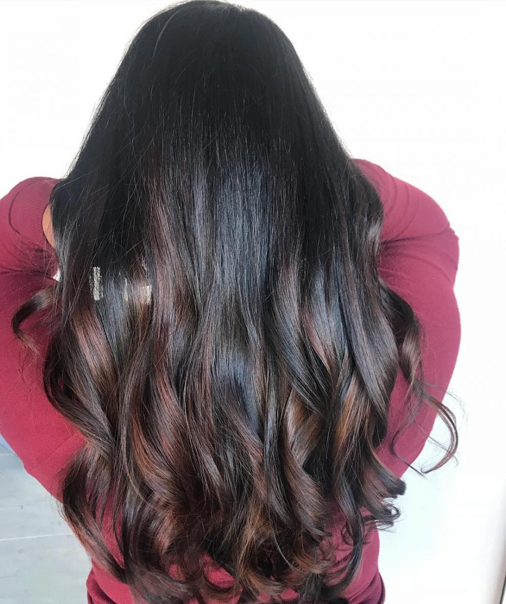 Latest Balayage Hairstyles for Black Hair