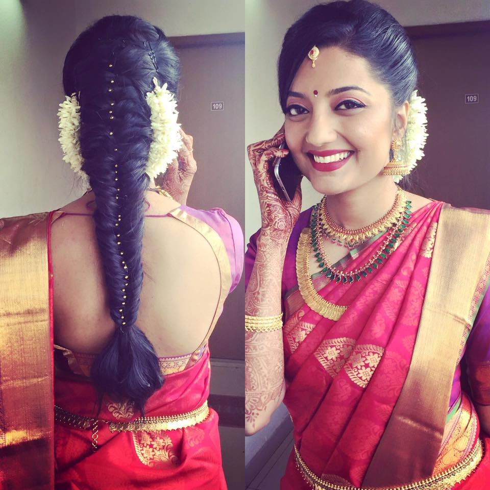 Latest Hairstyles for Saree