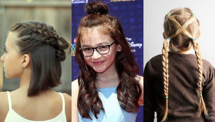 Easy & Simple Hairstyles for School Girls