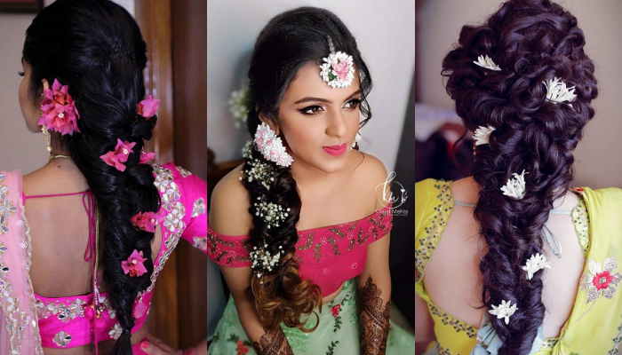 Best Hairstyle Ideas for Ghagra Choli