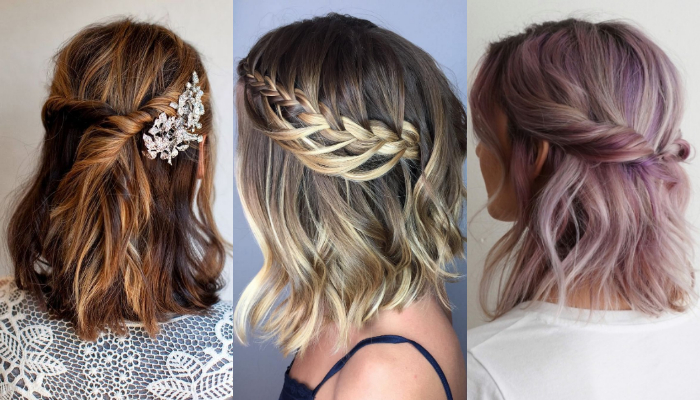 Get the Look with These Prom Hairstyles & Haircuts for Shoulder Length Hair