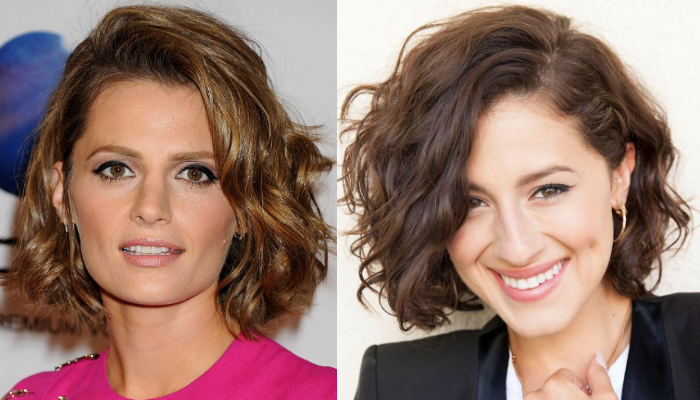Chic Style Short Layered Haircuts for Wavy Hair