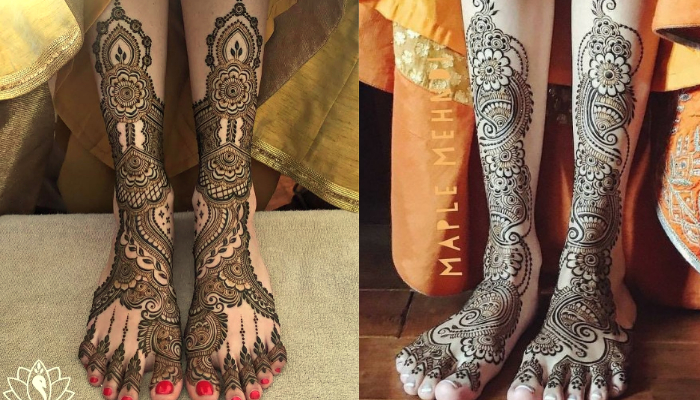 Wedding Arabic mehndi designs