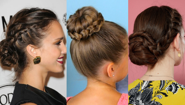 Look Gorgeous with These Easy Braided Bun Hairstyles