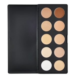 Beauties Factory - Professional Grade - 10 Color Camouflage and Concealer Palette