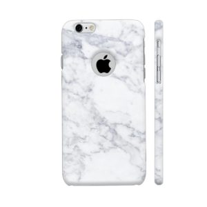 Colorpur White Marble Designer Mobile Case Cover For Apple iPhone 6 / 6s