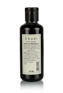 Khadi Herbal Amla and Bhringraj Shampoo SLS & Paraben Free