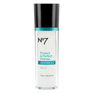 Boots No7 Protect & Perfect Intense Advanced Anti-aging Serum Bottle