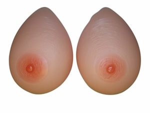 Breast Form 600 g/pair C Cup Silicone Bust
