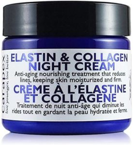 Carapex Natural Anti-aging Night Cream with Elastin & Collagen