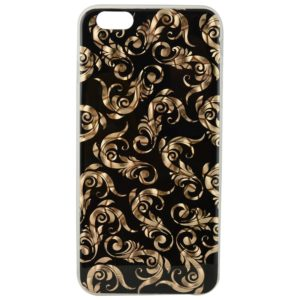 DEFENDER Artistic Golden Print Thin Back Case Cover For Apple iPhone 6
