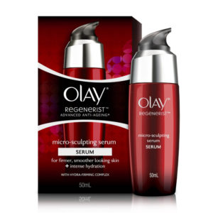 Olay Regenerist advanced Anti-aging Micro Sculpting Serum Intense Hydration with Hydra Firming Complex Skin Cream