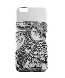 PosterGuy Mr Owl (Red) Illustration Animals iPhone 6 Case