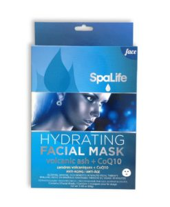 SpaLife Hydrating Anti-Aging Facial Mask Volcanic ash