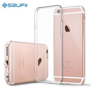 Super Flexible Clear TPU Case For iPhone 6 6s Slim