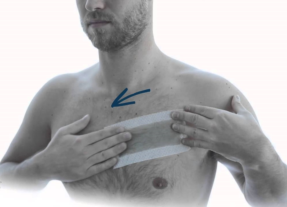 Waxing male chest hair4